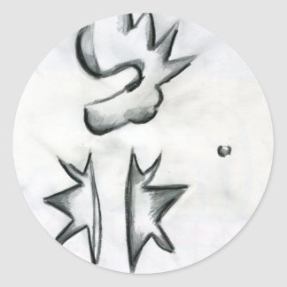 Eccentric Symmetries Stickers