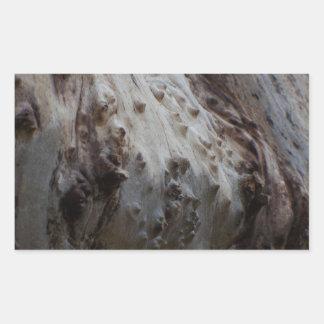 Eccentric Wood 1 Rectangular Sticker