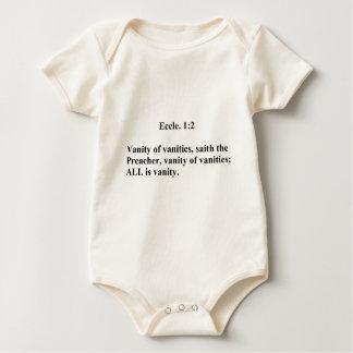 Eccles 1:2 baby bodysuit