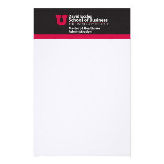 Eccles Healthcare Administration Stationery