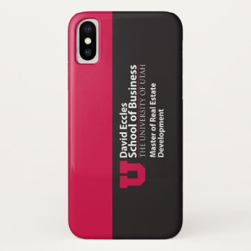 Professional Business Eccles Real Estate iPhone X Case
