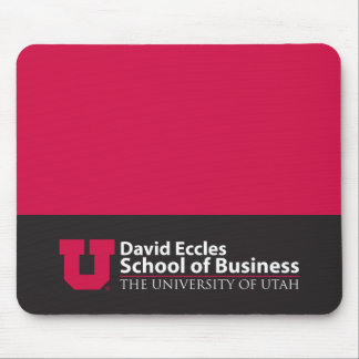 Eccles School of Business Mouse Pad