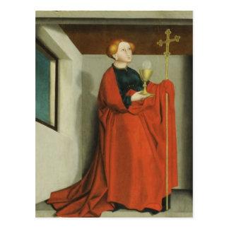 Ecclesia by Konrad Witz Postcard