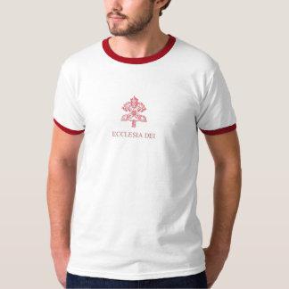 ECCLESIA DEI RED-CARDINAL T-SHIRT
