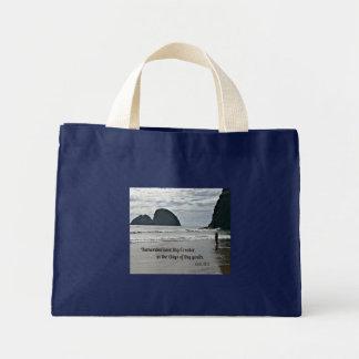 Ecclesiastes 12:1 Remember now thy Creator... Mini Tote Bag