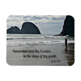 Ecclesiastes 12:1 Remember now thy Creator... Magnets
