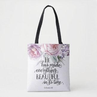 Ecclesiastes 3:11 Tote Bag