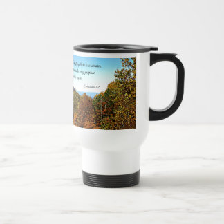 Ecclesiastes 3:1 To everything there is a season.. Travel Mug