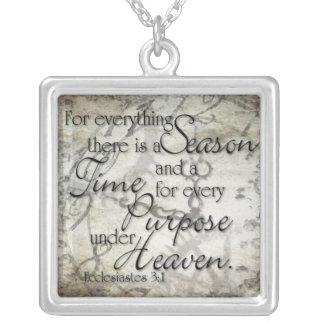 Ecclesiastes 3 Necklace
