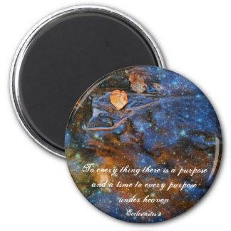 Ecclesiastes 3 Starry Autumn Magnet