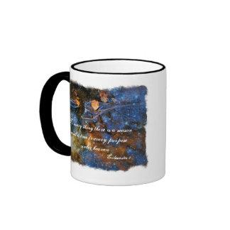 Ecclesiastes 3 Starry Autumn Mug