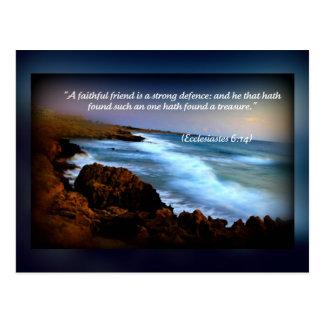 Ecclesiastes 6 postcard