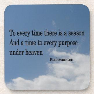 Ecclesiastes Coaster