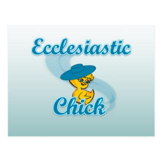 Ecclesiastic Chick #3 Postcard