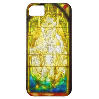 Ecclesiastical Angels - Stained Glass iPhone SE/5/5s Case