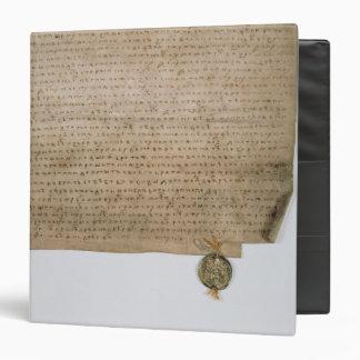 Ecclesiastical deed of the Grand Duke of Binder