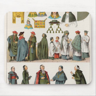 Ecclesiastical Dress Mouse Pad