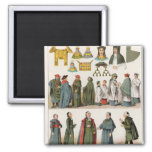 Ecclesiastical Dress Refrigerator Magnets