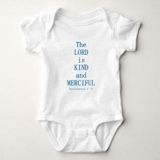 Ecclesiasticus 2: 11 baby bodysuit
