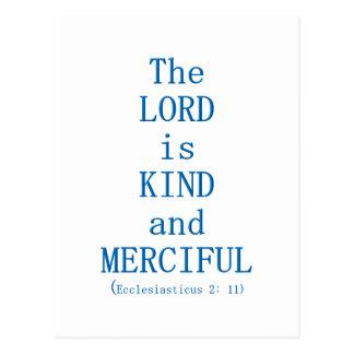 Ecclesiasticus 2: 11 postcard