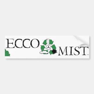 Ecco Mist Car Bumper Sticker