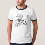 ECH81 Triode-Heptode Frequency Convertor T-Shirt