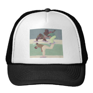 Echada del béisbol, gorra