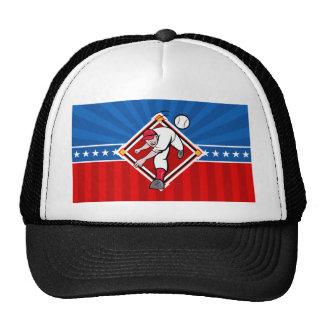 Echada del béisbol gorras
