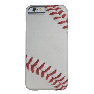Echada fantástica del béisbol perfecta funda para iPhone 6 barely there