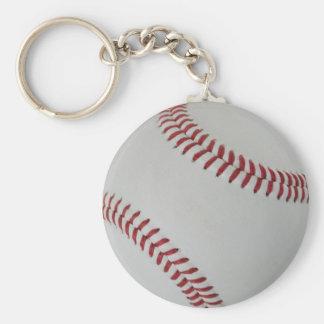 Echada fantástica del béisbol perfecta llavero