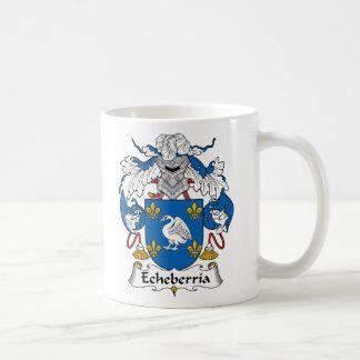 Echeberria Family Crest Mug
