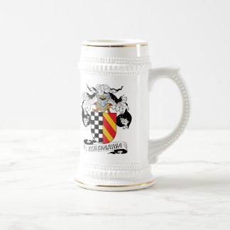 Echevarria Family Crest Coffee Mugs