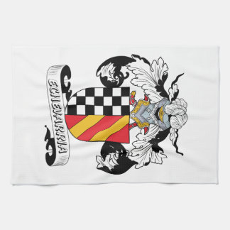 Echevarria Family Crest Hand Towels