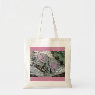 Echeveria Succulent Tote Bag