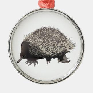 Echidna Metal Ornament