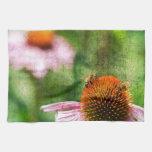 Echinacea del verano toalla