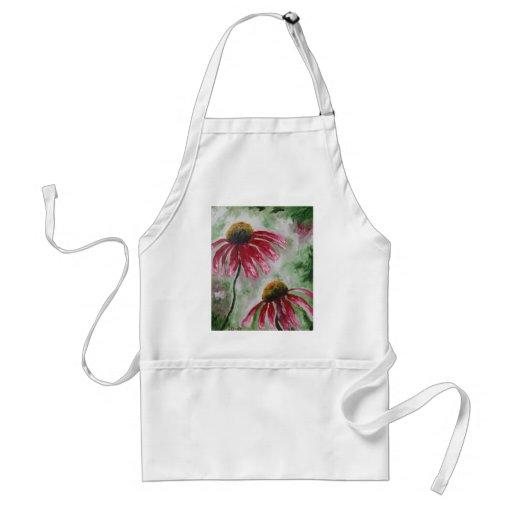 Echinacea Delantal