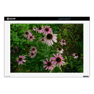 """Echinacea Explosion Tom Wurl.jpg Decals For 17"""" Laptops"""