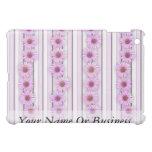 Echinacea Flower Stripes iPad Mini Cover