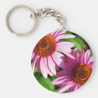 Echinacea Keychain