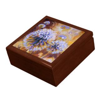 Echinops Globe Thistle Jewelry Box