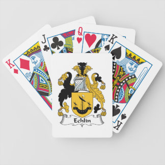Echlin Family Crest Bicycle Playing Cards