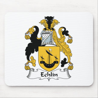 Echlin Family Crest Mouse Pad