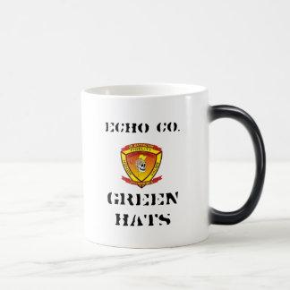 Echo 2/9 Green Hats Coffee Mug