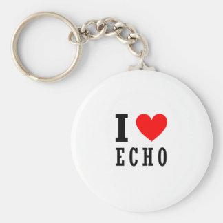 Echo, Alabama Keychain