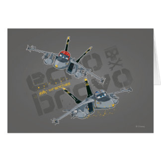 Echo and Bravo Jolly Wrenches Card