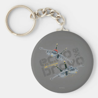 Echo and Bravo Jolly Wrenches Keychain