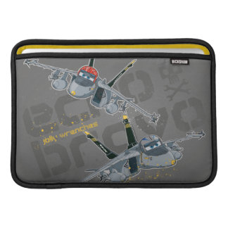 Echo and  Bravo Jolly Wrenches MacBook Air Sleeve