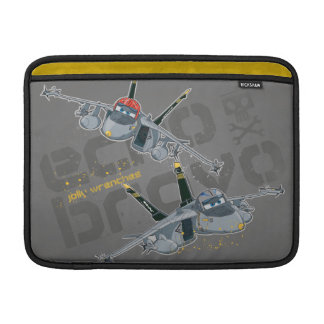 Echo and  Bravo Jolly Wrenches MacBook Sleeve