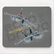 Echo and  Bravo Jolly Wrenches Mouse Pad
